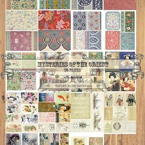Spring Is In The Air-Vintage Birds,Nests,Eggs And Flowers Die Cut Ephemera Digital Printable Kit,160 Images-10 page Collage Kit,Fussy cut
