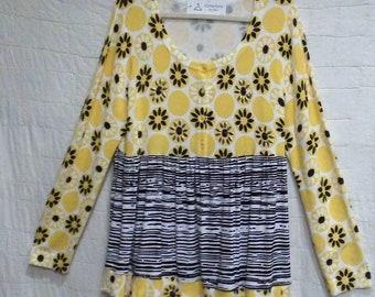 Sunflower light weight sweater tunic XL-1XL
