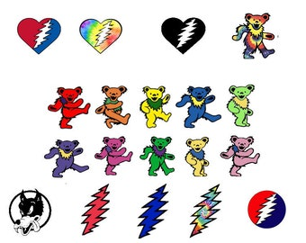 Grateful Dead (Click to View Patterns)