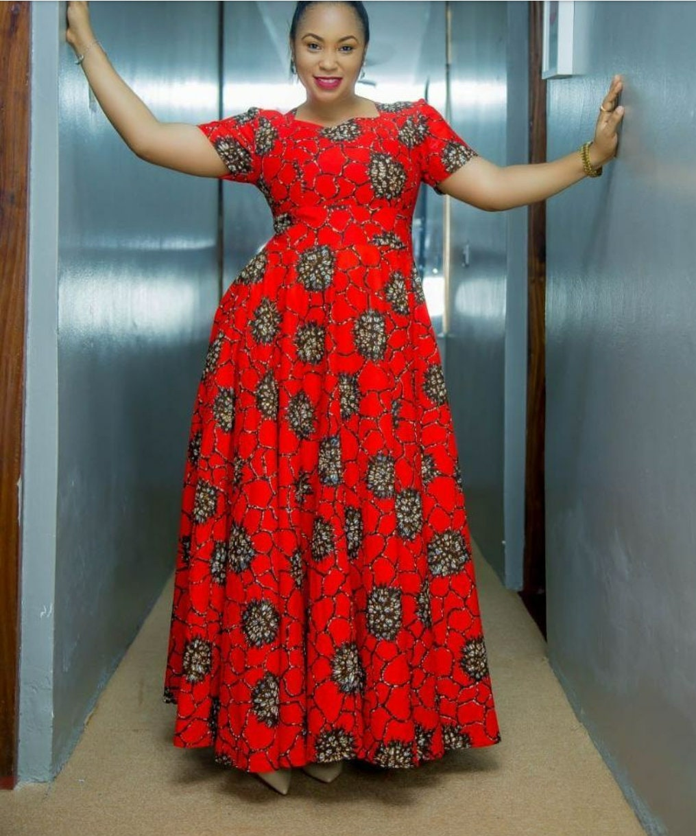 Robe Africaine Belle Culture Mode Kitenge Pour