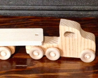 Mini Tractor Trailer Unfinished Kit