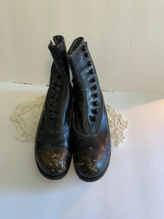Antique Button Boots