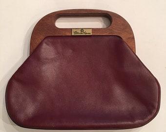 6c2b9753cc030 Vintage Etienne Aigner Leather Clutch Purse