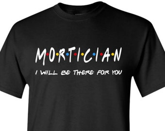 Mortician Shirt Morticians TShirts Sweater Pullover Gift