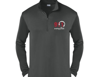 a637f639 911 Dispatcher Gift/Dispatcher Quarter Zip Pullover/Men's Pullover/Personalized  Gift For Men/Men's Pullover Sweater-SP-0001-M-CSC-ST357