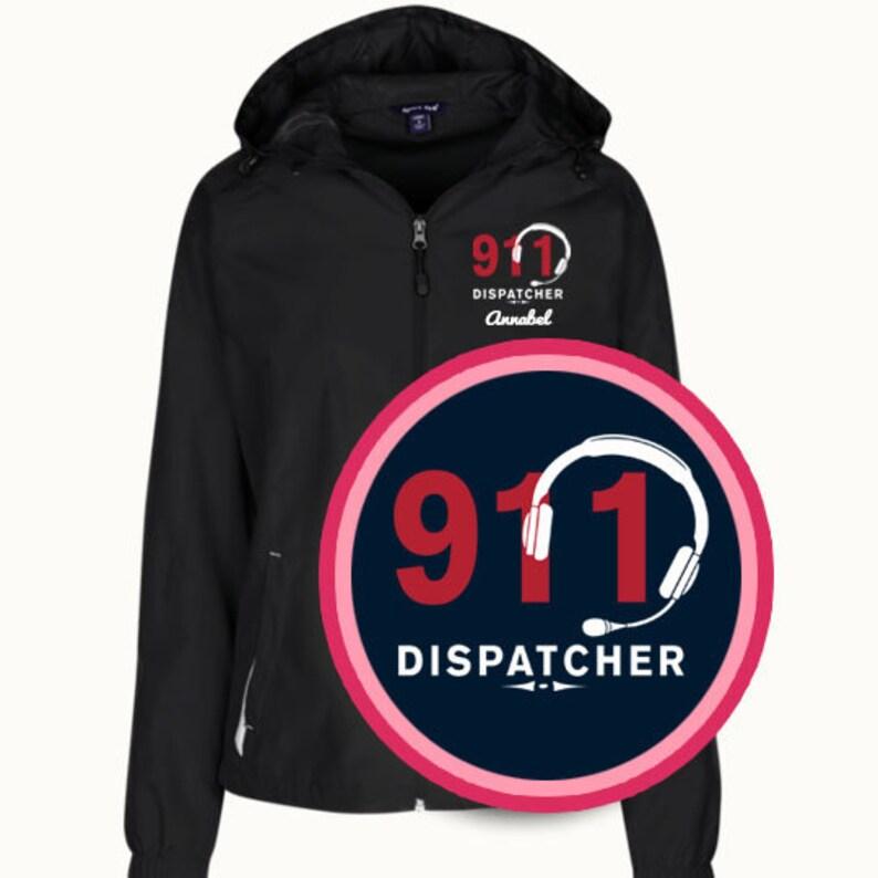 877bd937 911 Dispatcher Ladies Windbreaker Jacket / 911 Dispatcher Gift / 911  Dispatcher Personalizable Jacket - PRN-080