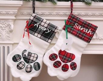 dog stockings etsy