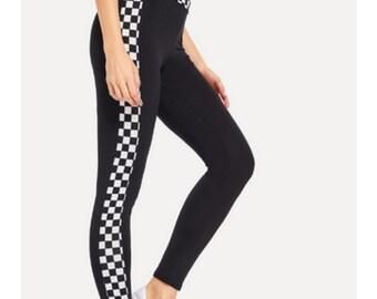 23b41e3d65953 Special Edition Checkered Celebrity Leggings