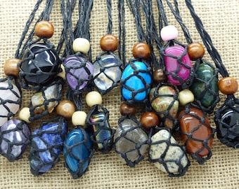 Crystal String Necklaces