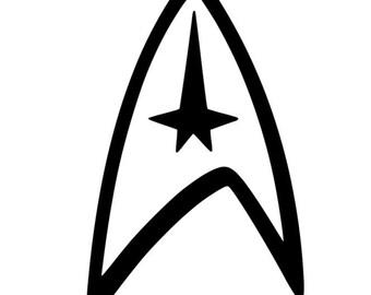 star trek logo etsy