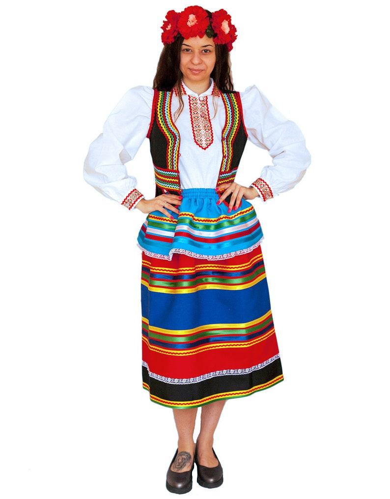 Kleidung Kleidung Slawische Kostümetsy Polnische Kleid Slawische Kostümetsy Kleid Xnw08OkP