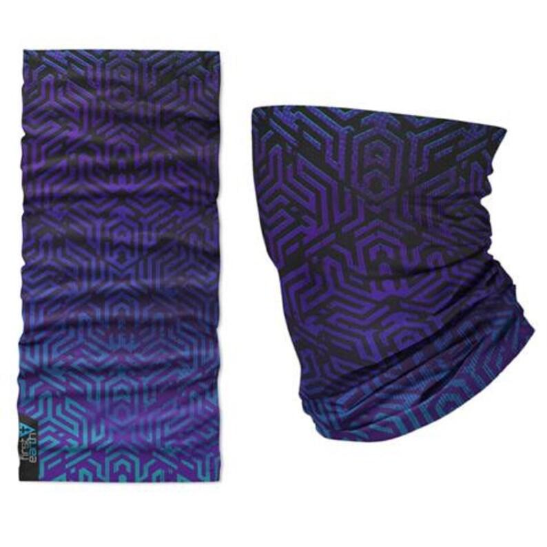 Labrynth Tubular Bandana Purple