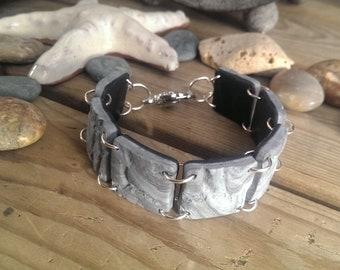 Stone tile -bracelet
