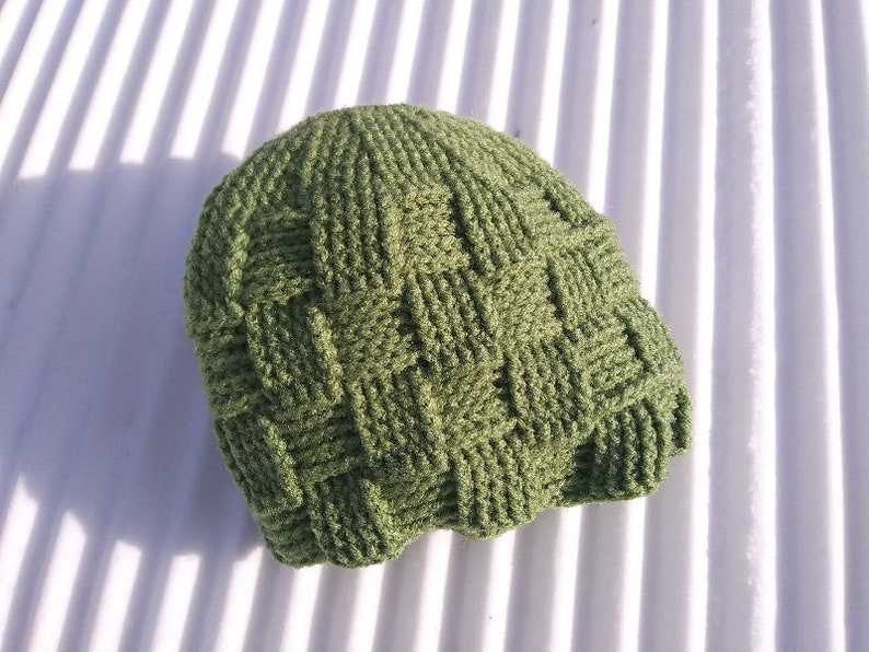 0f722acc24f Basket Weave Ponytail Messy Bun Beanie Hat Crochet Pattern