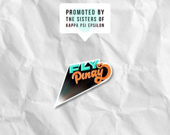 Fly Pinay Sticker