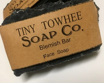 Activated Charcoal & Tea Tree Oil Blemish Bar