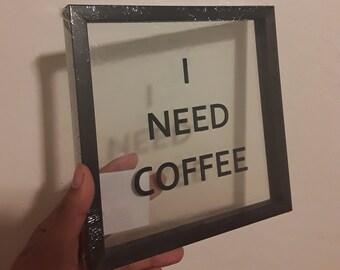 I need coffee artwork deskart