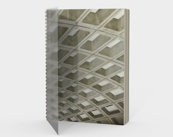 Metro - Spiral Notebook