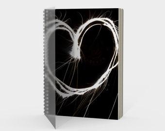 Fireworks - Spiral Notebook