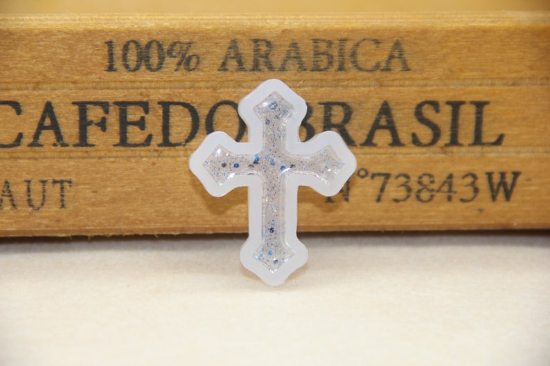 Crystal drop plastic cross pendant silicon mold DIY handmade many kinds of cross star model pendant