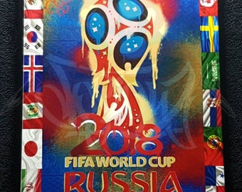 "2018 FIFA World Cup Russia Poster Soccer TournamentSt Petersburg13/"" x 19/"""