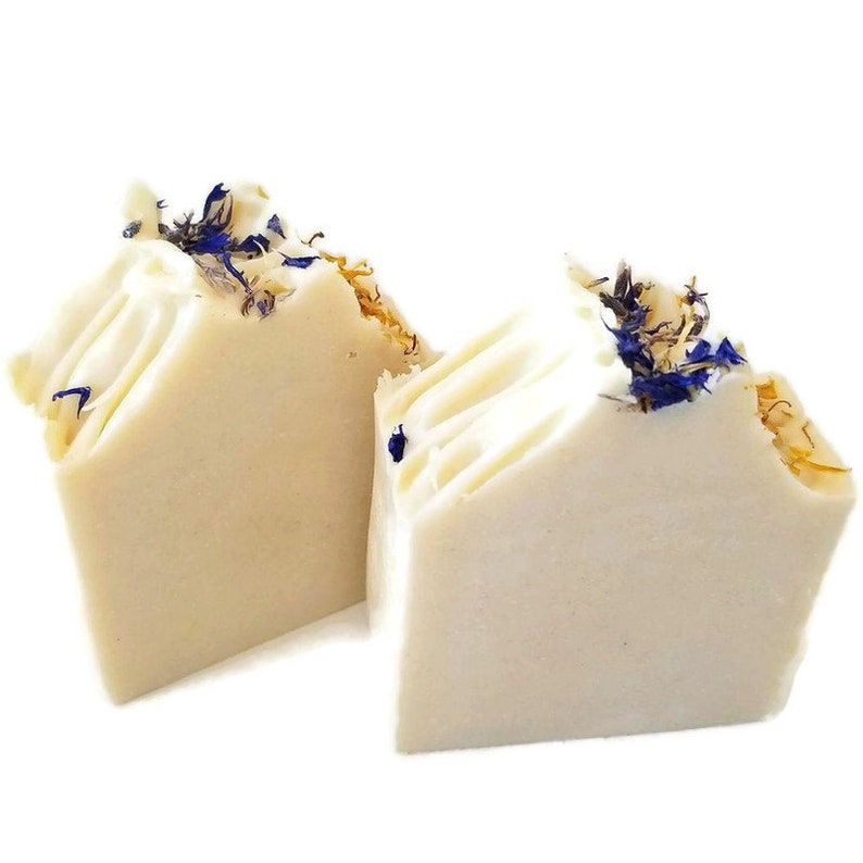 Unscented soap all natural baby and facial body bar soaps image 0