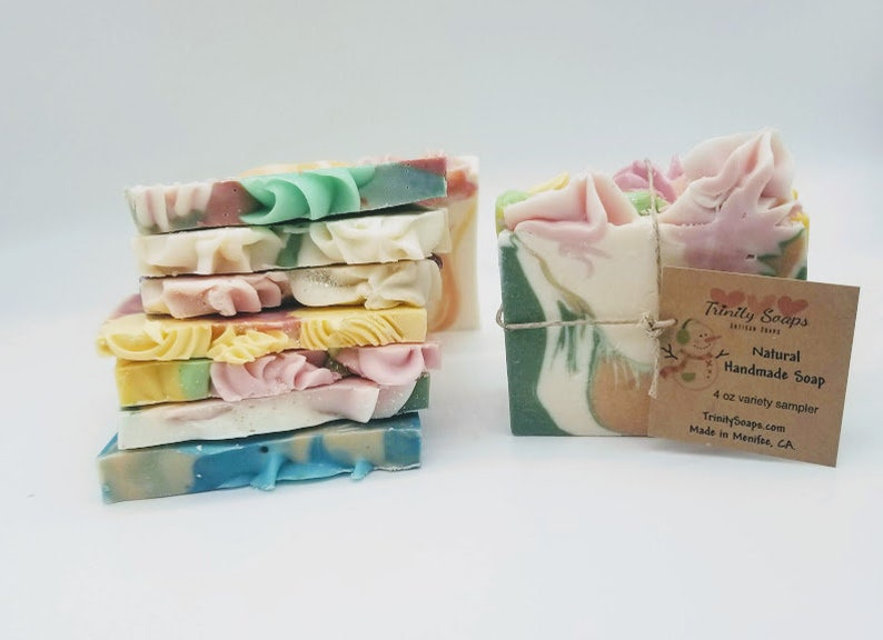 Christmas soap gifts for coworkers friend teacher stocking image 0