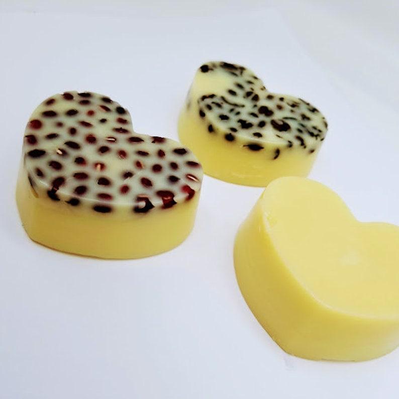 large LOTION BAR heart Japanese massage bars coffee oil image 0