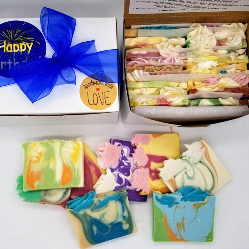 40 pcs birthday gift Soap set Homemade cold process soap image 0