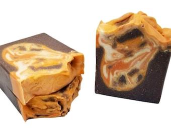 Vanilla Pumpkin Marshmallow, Goat milk soap, homemade soaps, goat, great for men and women, cold process