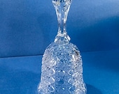Vintage Bleikristall Lead Crystal Cut Glass Bell from W. Germany - Giftable