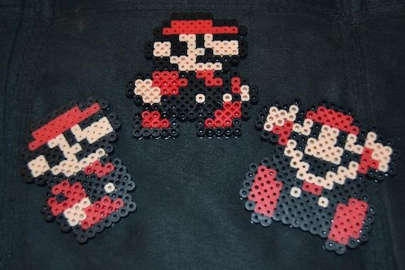 Super Mario Bros 3 Mario In Various Poses Small Etsy