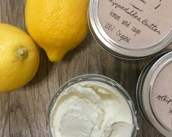 Whipped Shea Butter-Lemon and Sage