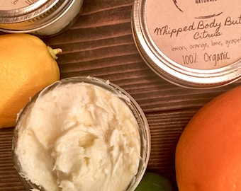 Whipped Shea Butter-Citrus