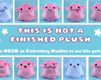 ITH Ditto Beanie EMBROIDERY PATTERN