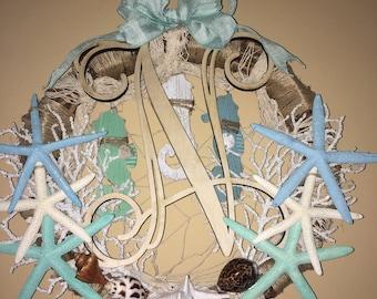 Sea side twig wreath