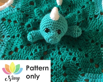 Dragon Security Blanket Crochet Pattern