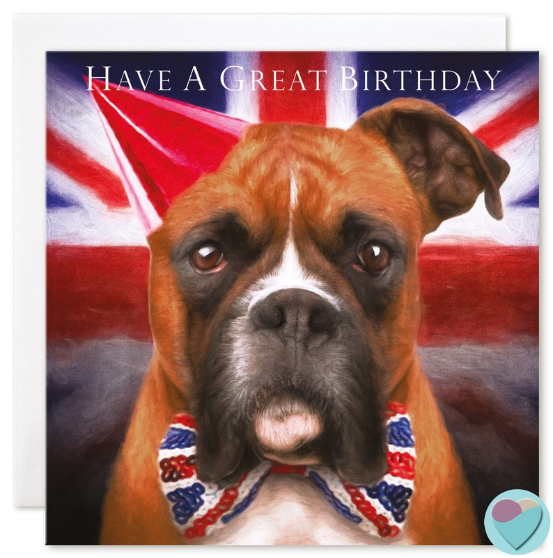 Birthday Card Men Boys Brother to from Staffordshire Bull Terrier Dog Lover