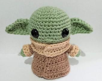 Baby Alien Amigurumi
