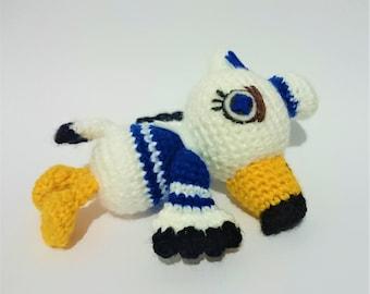 Animal Crossing Inspired Gulliver Amigurumi