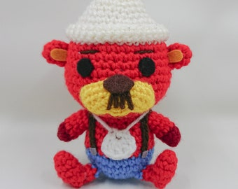Animal Crossing Inspired Pascal Amigurumi