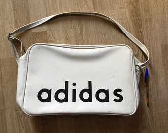 ADIDAS vintage very rare bag 70s Dark Blue  b504ab68705a6
