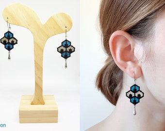 Earrings Peacock MelidelBoutique
