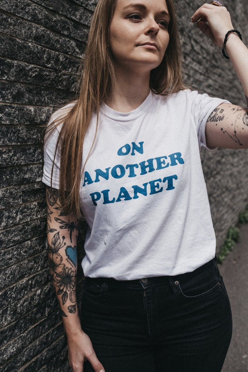 ON ANOTHER PLANET T-shirt image 0