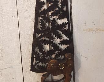 Oak Leaf Handsaw