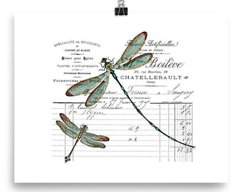 a2eefe7ca70 Dragonfly poster