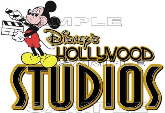 Disney Hollywood Studios Voyage of the Little Mermaid Scrapbook Die Cut Piece