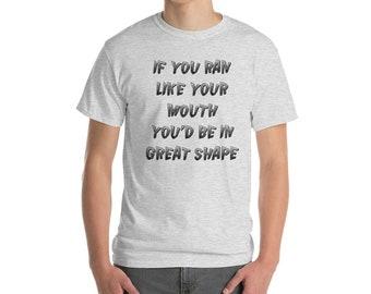 If You Ran Short-Sleeve T-Shirt