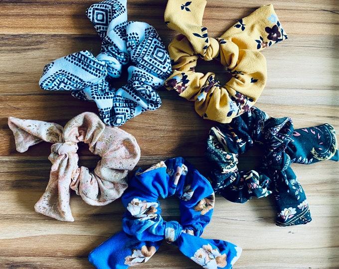 Pattern Scrunchies