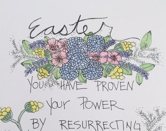 The Power of Easter 8 x 10 Print